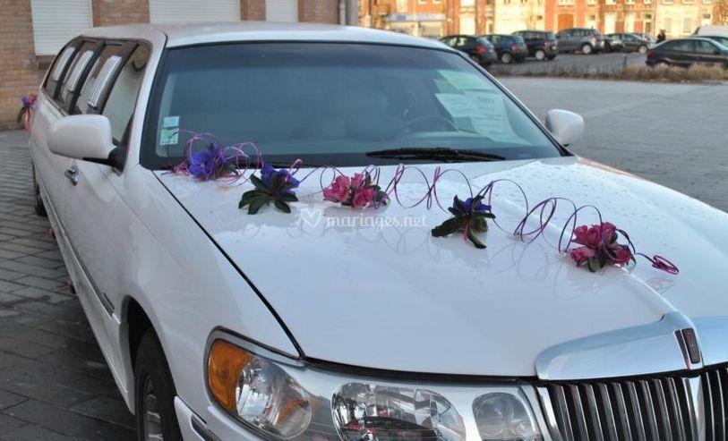 Décoration de la limousine