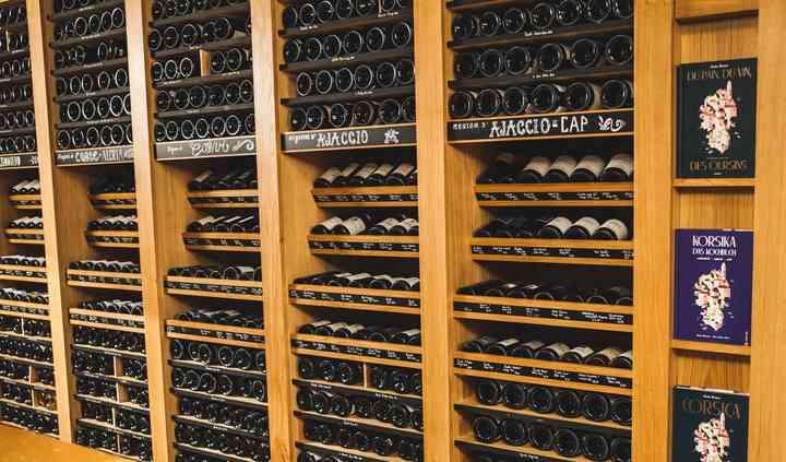 Collection de vins Corses