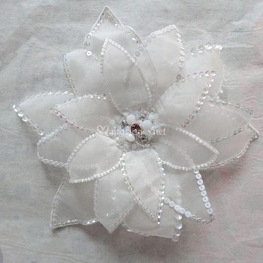 Fleur pour robe de mariée