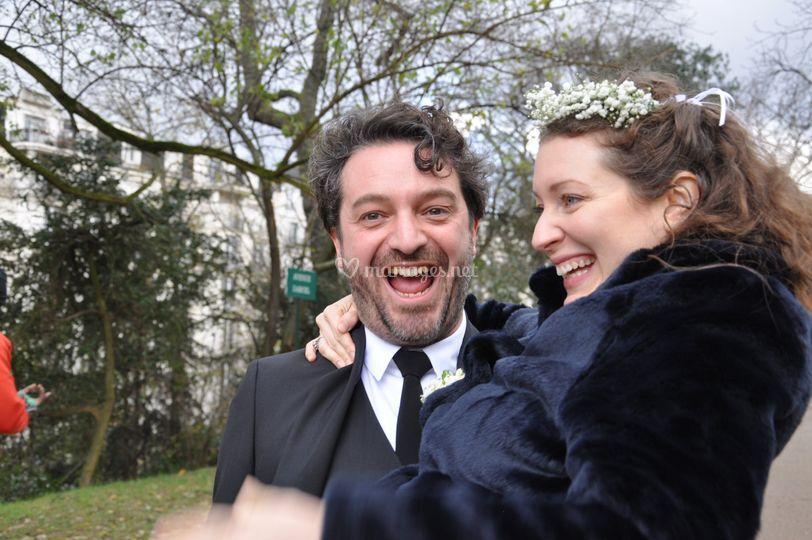 Enfin mariés