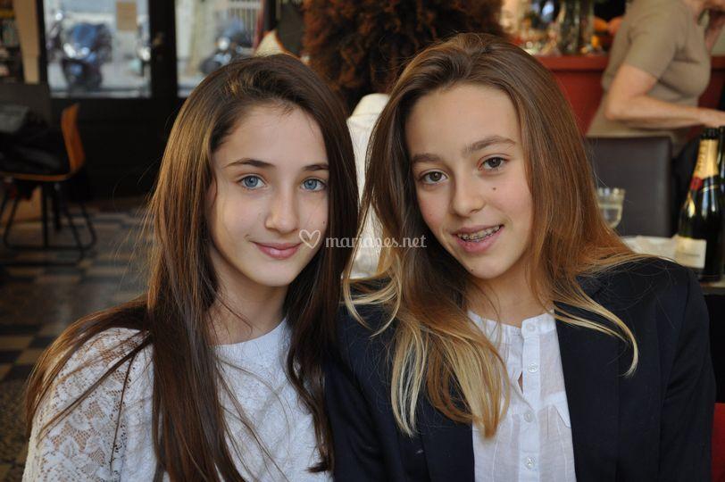 Deux jeunes filles
