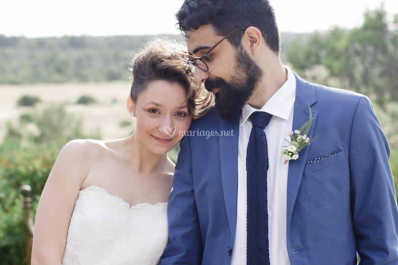 Mariage champêtre nature chic