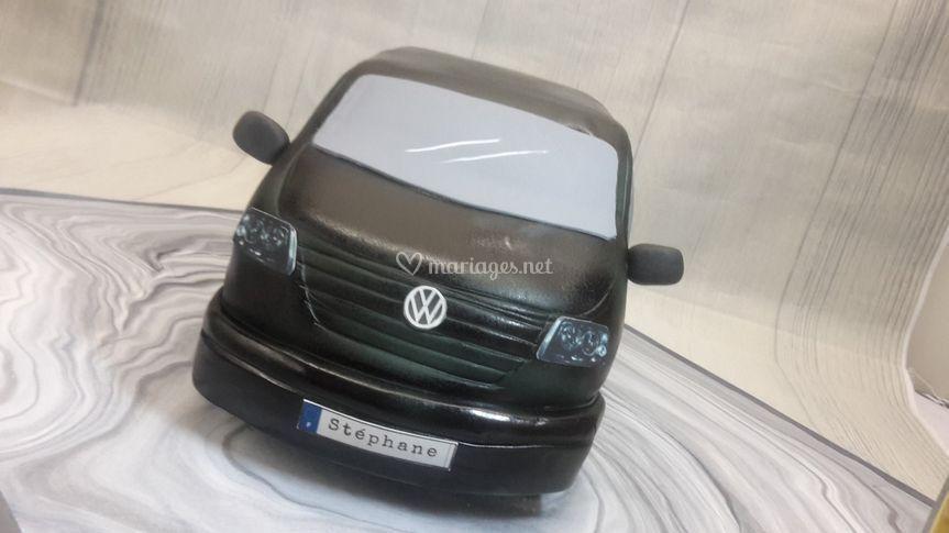 Gâteau sculpté VW transporter