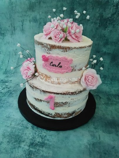 Naked cake 30 personnes