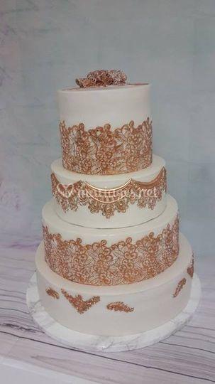 Wedding cake 150 personnes