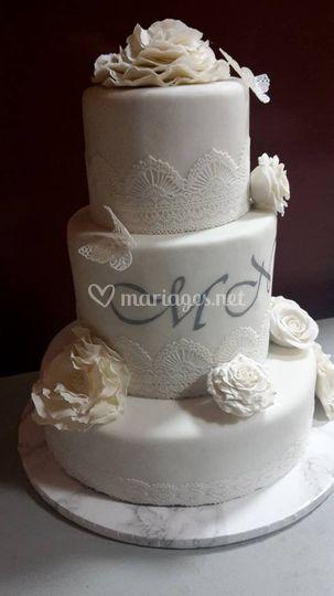Wedding cake 200 personnes