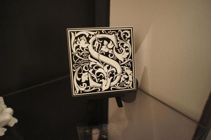 Marque-tables carreaux céramique