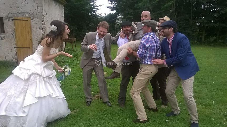 Mariage champêtre