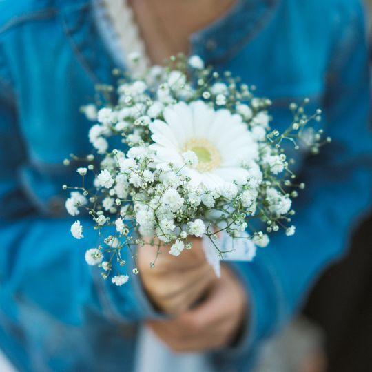 Bouquet de petite fille