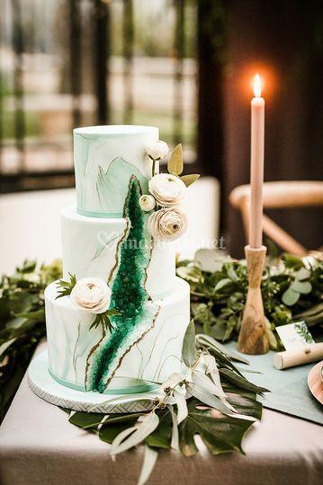 Géode cake