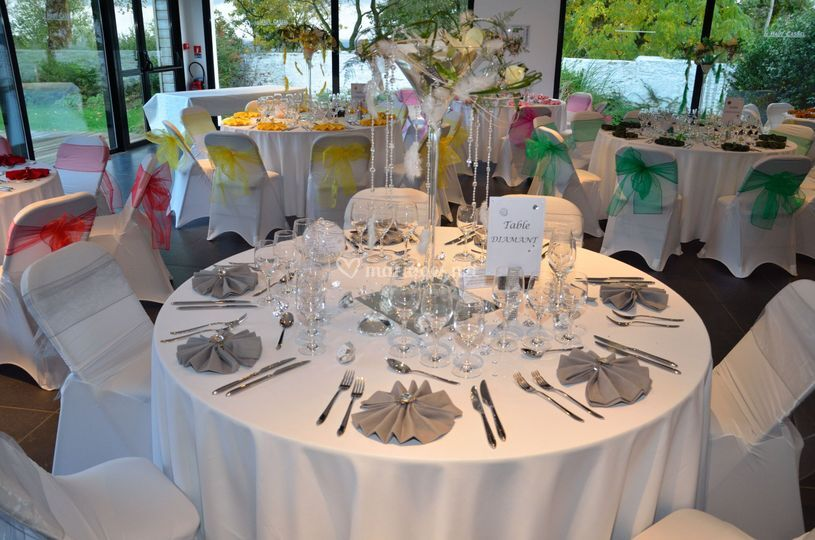 Wedding 39 s event co - Deco table ronde ...