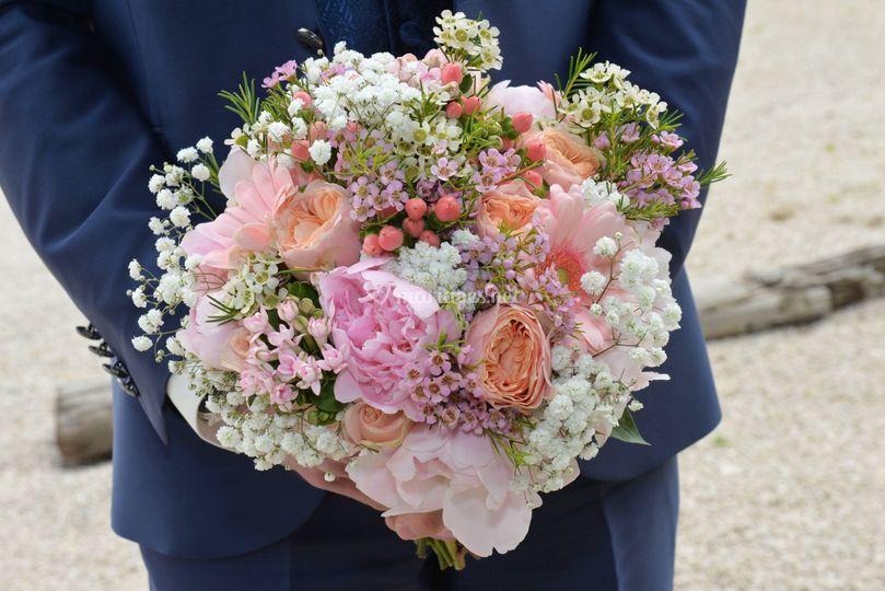 Photo bouquet de la mariée