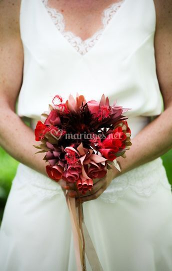 Corail sauvage bouquet