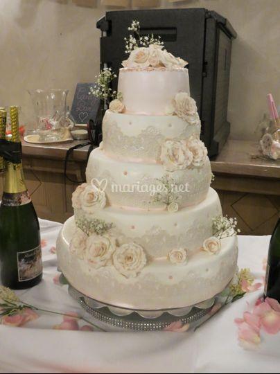 Wedding cake chic et glamour