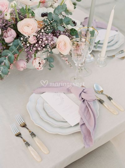 P+T * Table Mariage