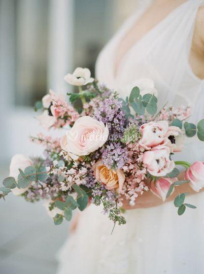 P+T * Fleurs Mariage