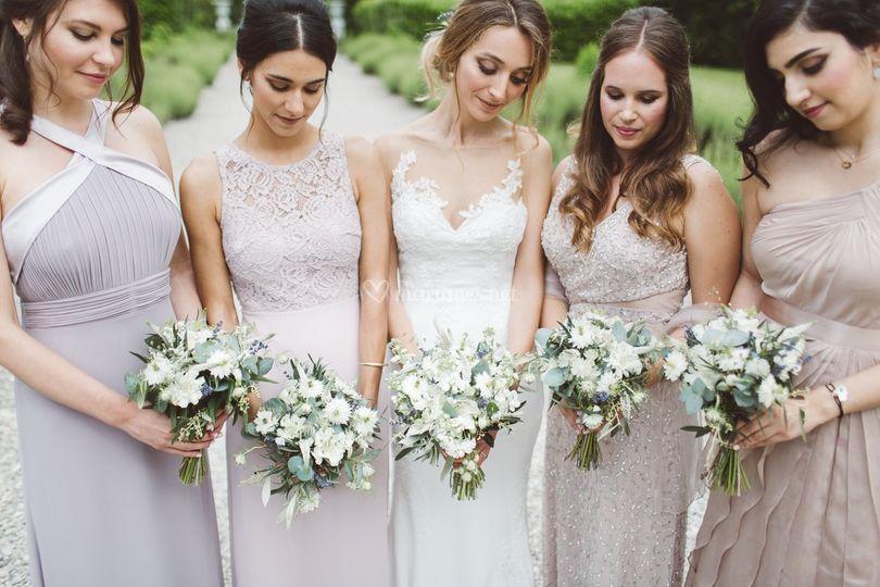 V+S * Bride & Bridesmaid