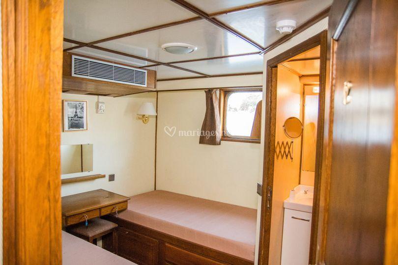 Une cabine double