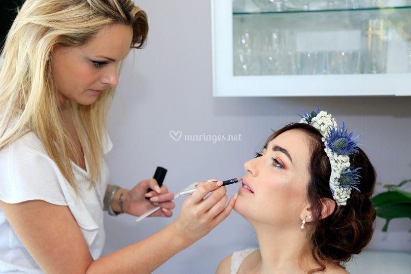 Laurenne maquillage