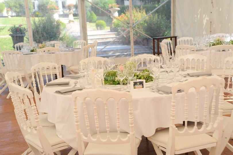 Table de Mariage - Barnum