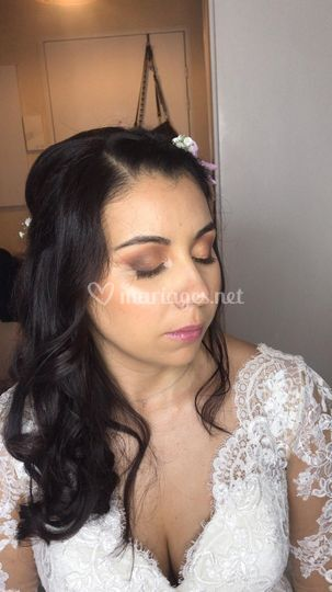 Maquillage de là mariée