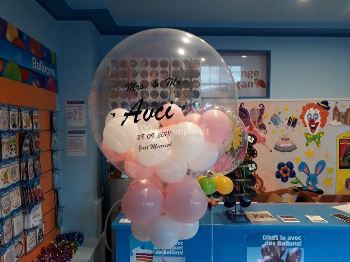 Bubble personnalisé
