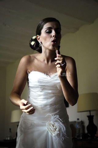 Photo de mariage - la mariée