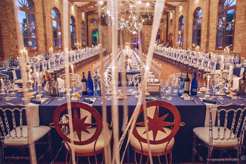 Magnifique salle de mariage
