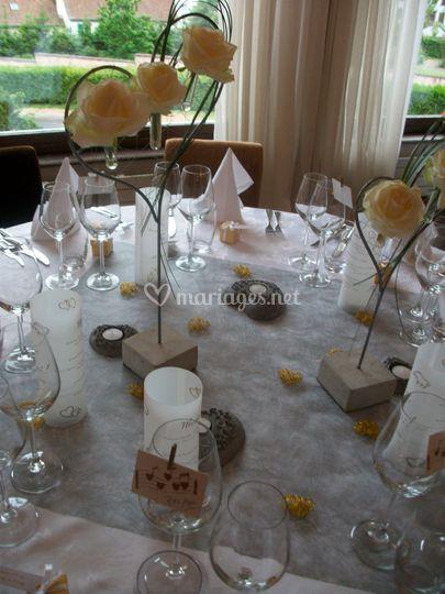 Détail table