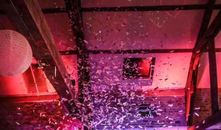 Mariage - canons à confettis