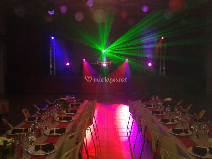 Show laser sur Mood Maker Events