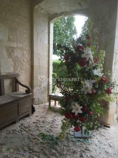Bouquet porche