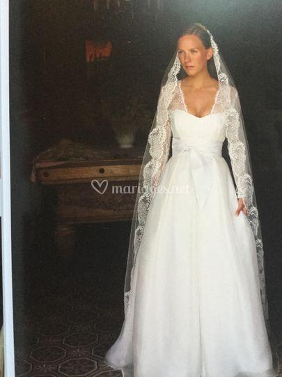 Mariée des Allées d'Harambure
