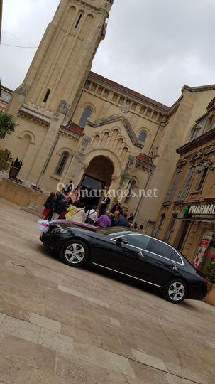 Mercedes classe E église