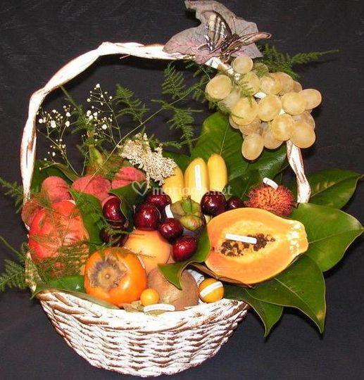 Saveurs d 39 antan - Corbeille a fruits 3 etages ...