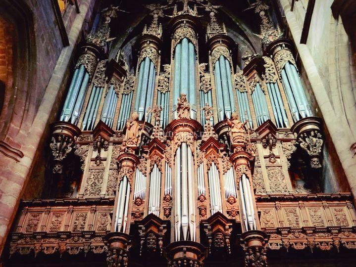 Orgue église