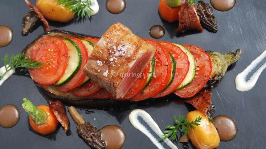 Filet d'agneau à la provençale