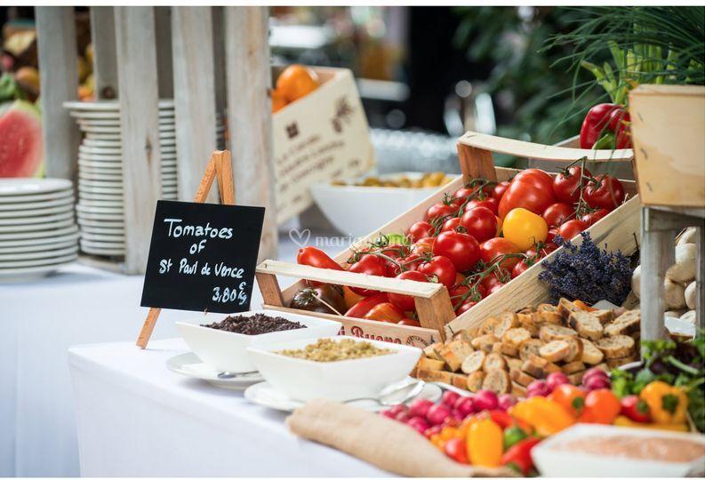 Buffet provençal