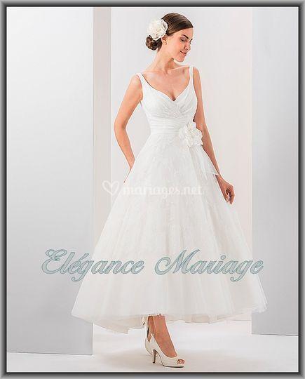 Robe l gance mariage de el gance mariage photo 126 for Don de robe de mariage michigan