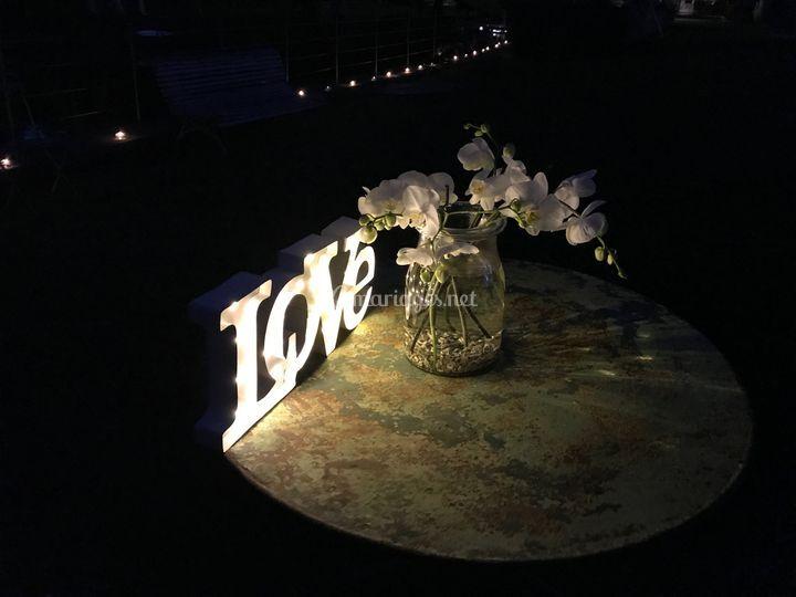 Love and garden