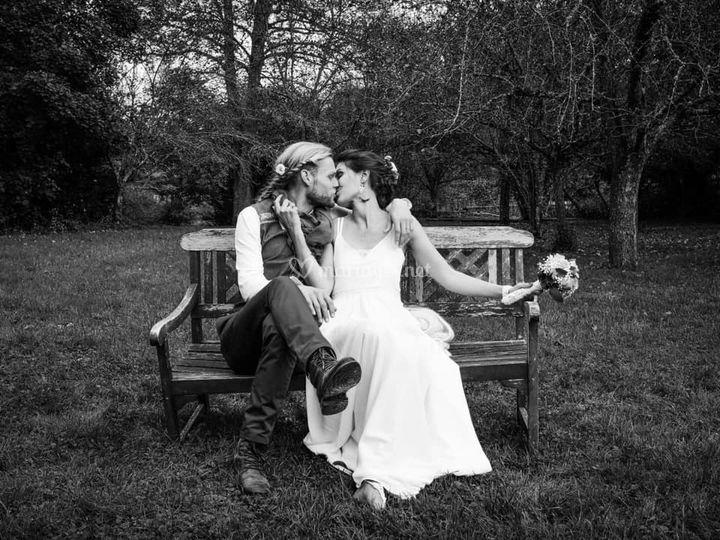 Mariage ''nue et culotté''
