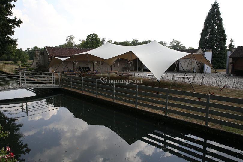 Tente Stretch 150 m²