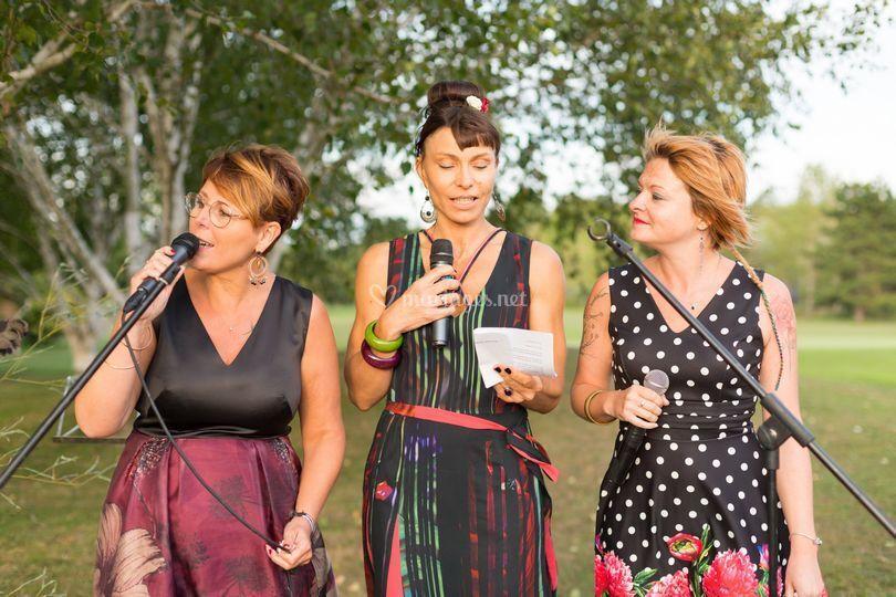 Chanteuses cérémonie