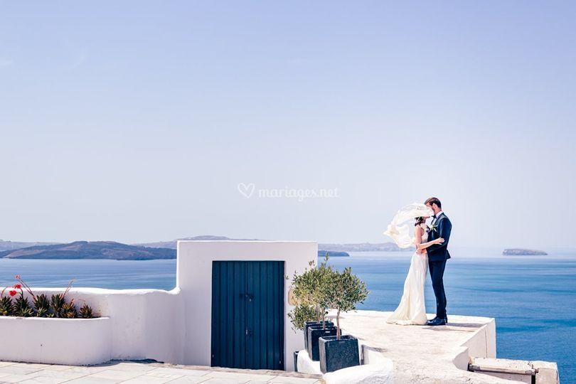 Couple (Grèce -Oia)