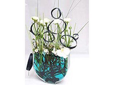 Composition pour vase