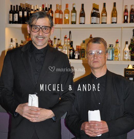 Faux serveurs Michel et André