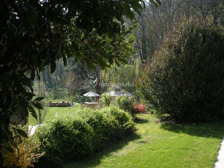 Recevoir dans les jardins