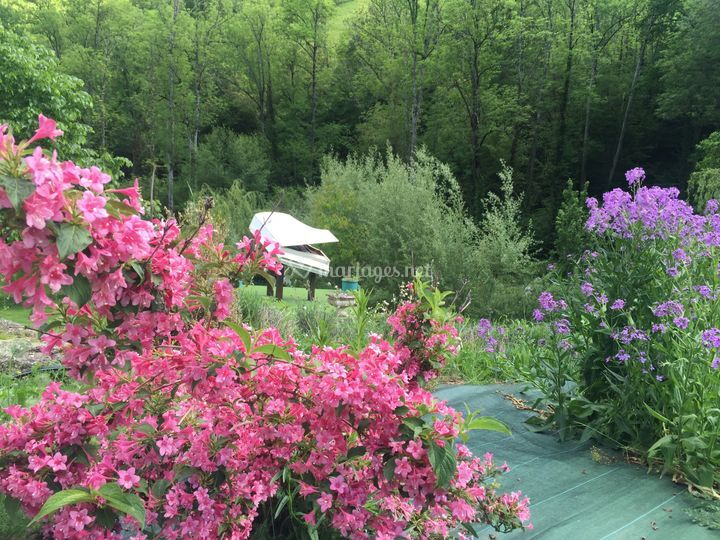 6 ha de jardins musicalisés