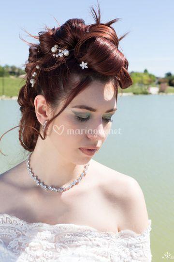 Chignon de mariée