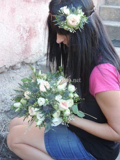 Coiffure & bouquet